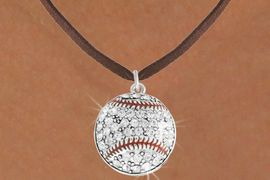 <bR>               EXCLUSIVELY OURS!!<BR>         AN ALLAN ROBIN DESIGN!!<BR>CLICK HERE TO SEE 600+ EXCITING<BR>   CHANGES THAT YOU CAN MAKE!<BR>              LEAD & NICKEL FREE!!<BR>     W907SN - AUSTRIAN CRYSTAL<Br>  BASEBALL CHARM  &  NECKLACE<Br>               FROM $5.40 TO $9.85