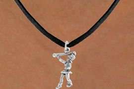 """<bR>               EXCLUSIVELY OURS!!<BR>         AN ALLAN ROBIN DESIGN!!<BR>CLICK HERE TO SEE 600+ EXCITING<BR>   CHANGES THAT YOU CAN MAKE!<BR>              LEAD & NICKEL FREE!!<BR>      W910SN - """"MAJORETTE""""<Br>  NECKLACE FROM $4.50 TO $8.35"""