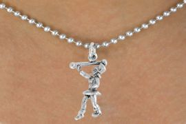 """<bR>               EXCLUSIVELY OURS!!<BR>         AN ALLAN ROBIN DESIGN!!<BR>CLICK HERE TO SEE 600+ EXCITING<BR>   CHANGES THAT YOU CAN MAKE!<BR>              LEAD & NICKEL FREE!!<BR>      W910SN - """"MAJORETTE""""<Br>  NECKLACE FROM $4.55 TO $8.00"""