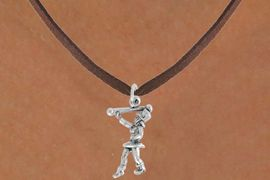 "<bR>               EXCLUSIVELY OURS!!<BR>         AN ALLAN ROBIN DESIGN!!<BR>CLICK HERE TO SEE 600+ EXCITING<BR>   CHANGES THAT YOU CAN MAKE!<BR>              LEAD & NICKEL FREE!!<BR>      W910SN - ""MAJORETTE""<Br>  NECKLACE FROM $4.55 TO $8.00"