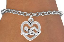 "<bR>               EXCLUSIVELY OURS!!<BR>         AN ALLAN ROBIN DESIGN!!<BR>CLICK HERE TO SEE 600+ EXCITING<BR>   CHANGES THAT YOU CAN MAKE!<BR>              LEAD & NICKEL FREE!!<BR>  W964SB - ""SWIMMING"" BRACELET<Br>                FROM $4.15 TO $8.00<BR>                                �2009"