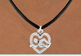 """<bR>               EXCLUSIVELY OURS!!<BR>         AN ALLAN ROBIN DESIGN!!<BR>CLICK HERE TO SEE 600+ EXCITING<BR>   CHANGES THAT YOU CAN MAKE!<BR>              LEAD & NICKEL FREE!!<BR>  W964SN - """"SWIMMING"""" NECKLACE<Br>               FROM $4.50 TO $8.35"""