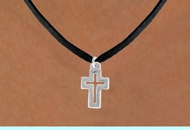 """<bR>               EXCLUSIVELY OURS!!<BR>         AN ALLAN ROBIN DESIGN!!<BR>CLICK HERE TO SEE 600+ EXCITING<BR>   CHANGES THAT YOU CAN MAKE!<BR>              LEAD & NICKEL FREE!!<BR>  W974SN - """"OPEN CROSS"""" NECKLACE<Br>               FROM $4.50 TO $8.35<BR>                           �2009"""