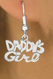 "<bR>               EXCLUSIVELY OURS!!<BR>         AN ALLAN ROBIN DESIGN!!<BR>CLICK HERE TO SEE 600+ EXCITING<BR>   CHANGES THAT YOU CAN MAKE!<BR>              LEAD & NICKEL FREE!!<BR>        W988SE - ""DADDY'S GIRL""<Br>  EARRINGS FROM $4.50 TO $8.35"