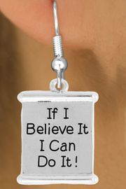 "<bR>               EXCLUSIVELY OURS!!<BR>         AN ALLAN ROBIN DESIGN!!<BR>CLICK HERE TO SEE 600+ EXCITING<BR>   CHANGES THAT YOU CAN MAKE!<BR>              LEAD & NICKEL FREE!!<BR>W994SE - ""IF I CAN BELIVE IT, I CAN DO IT!""<Br>  EARRINGS FROM $4.50 TO $8.35"