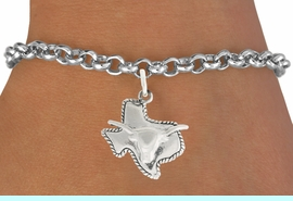 """<bR>               EXCLUSIVELY OURS!!<BR>         AN ALLAN ROBIN DESIGN!!<BR>CLICK HERE TO SEE 600+ EXCITING<BR>   CHANGES THAT YOU CAN MAKE!<BR>              LEAD & NICKEL FREE!!<BR>     W997SB - """"TEXAS LONGHORN""""<Br>& BRACELET FROM $4.15 TO $8.00"""
