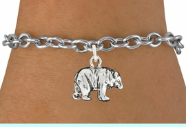 """<bR>               EXCLUSIVELY OURS!!<BR>         AN ALLAN ROBIN DESIGN!!<BR>CLICK HERE TO SEE 600+ EXCITING<BR>   CHANGES THAT YOU CAN MAKE!<BR>              LEAD & NICKEL FREE!!<BR>                 W999SB - """"BEAR"""" <Br>   & BRACELET FROM $4.15 TO $8.00"""