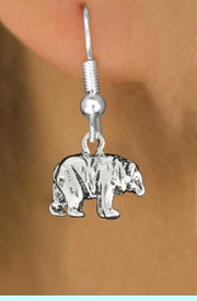 """<bR>               EXCLUSIVELY OURS!!<BR>         AN ALLAN ROBIN DESIGN!!<BR>CLICK HERE TO SEE 600+ EXCITING<BR>   CHANGES THAT YOU CAN MAKE!<BR>              LEAD & NICKEL FREE!!<BR>                 W999SE - """"BEAR""""<Br>  EARRINGS FROM $4.50 TO $8.35"""