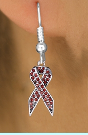 <bR>                 EXCLUSIVELY OURS!! <Br>             AN ALLAN ROBIN DESIGN!!<BR>       LEAD, NICKEL & CADMIUM FREE!! <BR>  W1384SE - RED AWARENESS CRYSTAL <BR>     RIBBON CHARM EARRINGS <BR>         FROM $4.95 TO $10.00 �2013