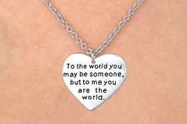 "<BR>               ""EXCLUSIVELY OURS""<bR>           AN ALLAN ROBIN DESIGN<Br>              LEAD & NICKEL FREE!!<Br>W13352N - ""LOVE"" DOUBLE-SIDED<Br>        MESSAGE HEART NECKLACE<bR>                   AS LOW AS $3.95<BR>                             �2008"