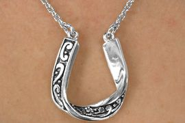 <Br>            EXCLUSIVELY OURS!!!<BR>       AN ALLAN ROBIN DESIGN!!<Br>             LEAD & NICKEL FREE!!<Br>W14392NE - FILIGREE DECORATED<Br>HORSESHOE NECKLACE & EARRING<BR>             SET AS LOW AS $6.83