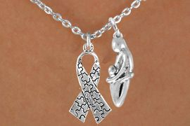 <bR>                EXCLUSIVELY OURS!!<Br>          AN ALLAN ROBIN DESIGN!!<BR>               LEAD & NICKEL FREE!!<BR>    W16028N - MOTHER AND CHILD<Br>    & AUTISM AWARENESS RIBBON<Br>             NECKLACE &#169;2010 FROM<Br>                       $4.85 TO $8.50