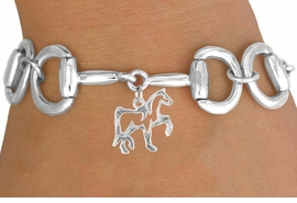 <Br>            EXCLUSIVELY OURS!!<Br>     AN ALLAN ROBIN DESIGN!!<Br>           LEAD & NICKEL FREE!!<Br>W16334B - BIT-LINK BRACELET<Br>& HORSE STENCIL CHARM FROM<Br>          $7.85 TO $17.50 &#169;2010