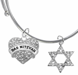 <bR>               EXCLUSIVELY OURS!!<BR>         AN ALLAN ROBIN DESIGN!!<BR>            LEAD & NICKEL FREE!! <BR>W1758-1670B9 - JEWISH BAS MITZVAH <BR>BRACELET FROM $7.50 TO $12.50 �2017