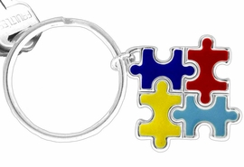 <Br>         AN ALLAN ROBIN DESIGN! <BR>W11544KC - AUTISM AWARENESS<br>      PUZZLE PIECE SQUARE DROP<Br>          KEY CHAIN &#169;2010 FROM<bR>                     $2.25 TO $5.00