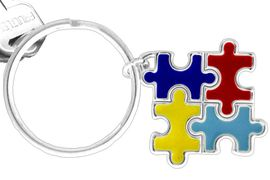 <BR><BR> SOLD OUT<BR> WILL NOT REMANUFACTURE<BR> UNTIL AN ORDER IS RECEIVED<BR> FOR 200 OR MORE PIECES<Br>W11544KC - AUTISM AWARENESS<br>      PUZZLE PIECE SQUARE DROP<Br>          KEY CHAIN &#169;2010 FROM<bR>                     $4.83 EACH