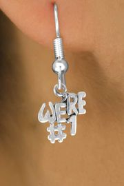 """<bR>              EXCLUSIVELY OURS!!<BR>CLICK HERE TO SEE 120+ EXCITING<BR>   CHANGES THAT YOU CAN MAKE!<BR>              LEAD & NICKEL FREE!!<BR>          W348SE - """"WE'RE #1"""" &<Br>       EARRINGS FROM $4.50 TO $8.35"""
