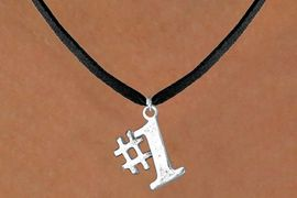 """<bR>               EXCLUSIVELY OURS!!<BR>CLICK HERE TO SEE 120+ EXCITING<BR>   CHANGES THAT YOU CAN MAKE!<BR>              LEAD & NICKEL FREE!!<BR>      W349SN - """"#1"""" & NECKLACE<BR>                    AS LOW AS $4.50"""