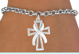 <bR>               EXCLUSIVELY OURS!!<BR>CLICK HERE TO SEE 120+ EXCITING<BR>   CHANGES THAT YOU CAN MAKE!<BR>              LEAD & NICKEL FREE!!<BR>  W434SB - CROSS & AWARENESS<BR>        RIBBON & BRACELET FROM<Br>                     $4.50 TO $8.35