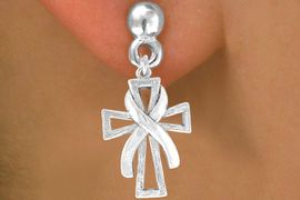 <bR>                  EXCLUSIVELY OURS!!<BR>    CLICK HERE TO SEE 120+ EXCITING<BR>     CHANGES THAT YOU CAN MAKE!<BR>                LEAD & NICKEL FREE!!<BR>     W434SE - CROSS & AWARENESS<Br>RIBBON & EARRING FROM $4.50 TO $8.35