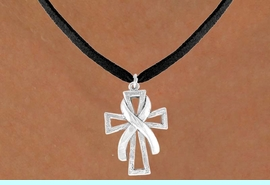 <bR>                   EXCLUSIVELY OURS!!<BR>     CLICK HERE TO SEE 120+ EXCITING<BR>      CHANGES THAT YOU CAN MAKE!<BR>                  LEAD & NICKEL FREE!!<BR>      W434SN - CROSS & AWARENESS<Br>RIBBON & NECKLACE FROM $4.50 TO $8.35