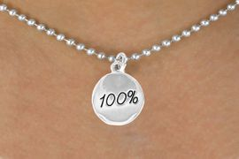 """<bR>              EXCLUSIVELY OURS!!<BR>CLICK HERE TO SEE 120+ EXCITING<BR>  CHANGES THAT YOU CAN MAKE!<BR>             LEAD & NICKEL FREE!!<BR>      W438SN - """"100%"""" CIRCLE &<br>      NECKLACE AS LOW AS $4.50"""