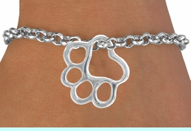 <bR>               EXCLUSIVELY OURS!!<BR>  CLICK HERE TO SEE 120+ EXCITING<BR>   CHANGES THAT YOU CAN MAKE!<BR>               LEAD & NICKEL FREE!!<BR>        W441SB - PAW & BRACELET<Br>                    AS LOW AS $4.90
