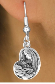 <bR>               EXCLUSIVELY OURS!!<BR>CLICK HERE TO SEE 120+ EXCITING<BR>   CHANGES THAT YOU CAN MAKE!<BR>              LEAD & NICKEL FREE!!<BR>        W442SE - VIRGIN & CHILD<Br>    EARRING FROM $4.50 TO $8.35