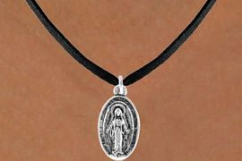 <bR>              EXCLUSIVELY OURS!!<BR>CLICK HERE TO SEE 120+ EXCITING<BR>  CHANGES THAT YOU CAN MAKE!<BR>              LEAD & NICKEL FREE!!<BR>W444SN - 2-SIDED VIRGIN MARY<Br>       NECKLACE AS LOW AS $4.50