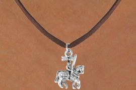 <bR>               EXCLUSIVELY OURS!!<BR>CLICK HERE TO SEE 120+ EXCITING<BR>   CHANGES THAT YOU CAN MAKE!<BR>              LEAD & NICKEL FREE!!<BR>   W446SN - KNIGHT ON HORSE &<Br>     NECKLACE FROM $4.50 TO $8.35
