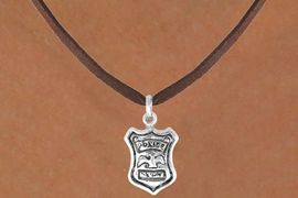<bR>              EXCLUSIVELY OURS!!<BR>CLICK HERE TO SEE 120+ EXCITING<BR>  CHANGES THAT YOU CAN MAKE!<BR>             LEAD & NICKEL FREE!!<BR>      W447SN - POLICE SHIELD &<Br>      NECKLACE AS LOW AS $4.50