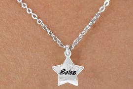 """<bR>              EXCLUSIVELY OURS!!<BR>CLICK HERE TO SEE 120+ EXCITING<BR>   CHANGES THAT YOU CAN MAKE!<BR>              LEAD & NICKEL FREE!!<BR>       W449SN - """"SALES"""" STAR &<Br>       NECKLACE AS LOW AS $4.50"""