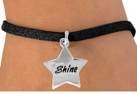"""<bR>               EXCLUSIVELY OURS!!<BR>CLICK HERE TO SEE 120+ EXCITING<BR>   CHANGES THAT YOU CAN MAKE!<BR>              LEAD & NICKEL FREE!!<BR>       W460SB - """"SHINE"""" STAR &<BR>       BRACELET AS LOW AS $4.50"""