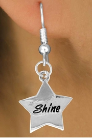 "<bR>              EXCLUSIVELY OURS!!<BR>CLICK HERE TO SEE 120+ EXCITING<BR>  CHANGES THAT YOU CAN MAKE!<BR>              LEAD & NICKEL FREE!!<BR>        W460SE - ""SHINE"" STAR &<Br>        EARRING FROM $4.50 TO $8.35"