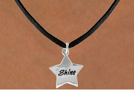 "<bR>              EXCLUSIVELY OURS!!<BR>CLICK HERE TO SEE 120+ EXCITING<BR>   CHANGES THAT YOU CAN MAKE!<BR>              LEAD & NICKEL FREE!!<BR>       W460SN - ""SHINE"" STAR &<Br>       NECKLACE AS LOW AS $4.50"