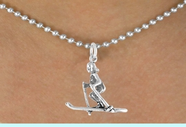 <bR>              EXCLUSIVELY OURS!!<BR>CLICK HERE TO SEE 120+ EXCITING<BR>  CHANGES THAT YOU CAN MAKE!<BR>             LEAD & NICKEL FREE!!<BR>       W469SN - FEMALE SKIER &<Br>        NECKLACE AS LOW AS $4.50