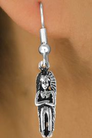 <bR>               EXCLUSIVELY OURS!!<BR>CLICK HERE TO SEE 120+ EXCITING<BR>   CHANGES THAT YOU CAN MAKE!<BR>              LEAD & NICKEL FREE!!<BR> W480SE - INDIAN CHIEF & EARRINGS<Br>                   FROM $4.50 TO $8.35