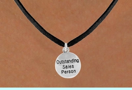 """<bR>               EXCLUSIVELY OURS!!<BR>CLICK HERE TO SEE 120+ EXCITING<BR>   CHANGES THAT YOU CAN MAKE!<BR>              LEAD & NICKEL FREE!!<BR> W482SN - """"OUTSTANDING SALES<Br>             PERSON"""" & NECKLACE<br>                   AS LOW AS $4.50"""