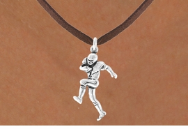 <bR>               EXCLUSIVELY OURS!!<BR>CLICK HERE TO SEE 120+ EXCITING<BR>   CHANGES THAT YOU CAN MAKE!<BR>              LEAD & NICKEL FREE!!<BR>   W485SN - FOOTBALL PLAYER &<br>        NECKLACE AS LOW AS $4.50