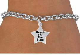 "<bR>               EXCLUSIVELY OURS!!<BR> CLICK HERE TO SEE 120+ EXCITING<BR>   CHANGES THAT YOU CAN MAKE!<BR>              LEAD & NICKEL FREE!!<BR>W487SB - ""REACH FOR THE STARS""<BR>STAR & BRACELET AS LOW AS $4.50<BR>                               �2009"