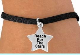 """<bR>               EXCLUSIVELY OURS!!<BR> CLICK HERE TO SEE 120+ EXCITING<BR>   CHANGES THAT YOU CAN MAKE!<BR>              LEAD & NICKEL FREE!!<BR>W487SB - """"REACH FOR THE STARS""""<BR>STAR & BRACELET AS LOW AS $4.50"""