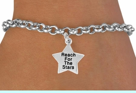 """<bR>               EXCLUSIVELY OURS!!<BR> CLICK HERE TO SEE 120+ EXCITING<BR>   CHANGES THAT YOU CAN MAKE!<BR>              LEAD & NICKEL FREE!!<BR>W487SB - """"REACH FOR THE STARS""""<BR>STAR & BRACELET AS LOW AS $4.50<BR>                               �2009"""