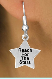 """<bR>              EXCLUSIVELY OURS!!<BR>CLICK HERE TO SEE 120+ EXCITING<BR>  CHANGES THAT YOU CAN MAKE!<BR>              LEAD & NICKEL FREE!!<BR>W487SE - """"REACH FOR THE STARS""""<Br>STAR & EARRING FROM $4.50 TO $8.35"""