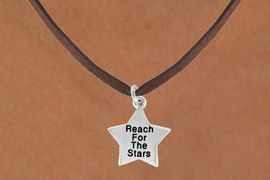 "<bR>                EXCLUSIVELY OURS!!<BR> CLICK HERE TO SEE 120+ EXCITING<BR>    CHANGES THAT YOU CAN MAKE!<BR>               LEAD & NICKEL FREE!!<BR>W487SN - ""REACH FOR THE STARS""<Br>STAR & NECKLACE AS LOW AS $4.50"