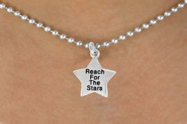 "<bR>                EXCLUSIVELY OURS!!<BR> CLICK HERE TO SEE 120+ EXCITING<BR>    CHANGES THAT YOU CAN MAKE!<BR>               LEAD & NICKEL FREE!!<BR>W487SN - ""REACH FOR THE STARS""<Br>STAR & NECKLACE AS LOW AS $4.50<BR>                                 �2009"