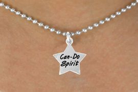 "<bR>               EXCLUSIVELY OURS!!<BR>CLICK HERE TO SEE 120+ EXCITING<BR>   CHANGES THAT YOU CAN MAKE!<BR>              LEAD & NICKEL FREE!!<BR>W488SN - ""CAN-DO SPIRIT"" STAR<Br>     & NECKLACE AS LOW AS $4.50"
