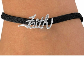 "<bR>               EXCLUSIVELY OURS!!<BR>CLICK HERE TO SEE 120+ EXCITING<BR>  CHANGES THAT YOU CAN MAKE!<BR>              LEAD & NICKEL FREE!!<BR>   W505SB - ""FAITH"" & BRACELET<Br>               FROM $4.50 TO $8.35"