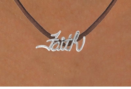 "<bR>               EXCLUSIVELY OURS!!<BR>CLICK HERE TO SEE 120+ EXCITING<BR>   CHANGES THAT YOU CAN MAKE!<BR>              LEAD & NICKEL FREE!!<BR>   W505SN - ""FAITH"" & NECKLACE<BR>               FROM $4.50 TO $8.35"