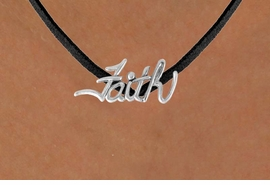 "<bR>               EXCLUSIVELY OURS!!<BR>CLICK HERE TO SEE 120+ EXCITING<BR>   CHANGES THAT YOU CAN MAKE!<BR>              LEAD & NICKEL FREE!!<BR>   W505SN - ""FAITH"" & NECKLACE<BR>    NECKLACE FROM $4.50 TO $8.35"