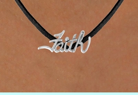 """<bR>               EXCLUSIVELY OURS!!<BR>CLICK HERE TO SEE 120+ EXCITING<BR>   CHANGES THAT YOU CAN MAKE!<BR>              LEAD & NICKEL FREE!!<BR>   W505SN - """"FAITH"""" & NECKLACE<BR>    NECKLACE FROM $4.50 TO $8.35"""